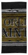 New Orleans Saints Bath Towel