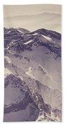 3.478 Meters Aerial Retro Bath Towel