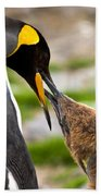 King Penguin Bath Towel