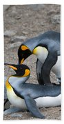 King Penguins Bath Towel