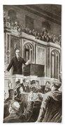 Woodrow Wilson (1856-1924) Hand Towel
