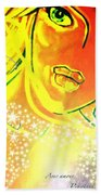 Pikotine Art Bath Towel