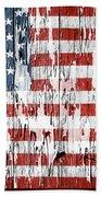 American Flag 49 Bath Towel