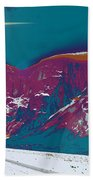 Space Landscape Bath Towel