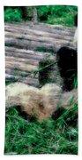3722-panda -  Pastel Chalk 1 Bath Towel