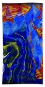 Abstract 30 Bath Towel