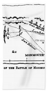 Battle Of Monmouth, 1778 Bath Towel