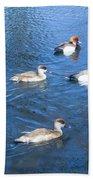 4 Duck Pond Bath Towel