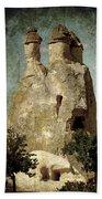 Fairy Chimney In Goreme Bath Towel