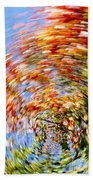 Fall Abstract Hand Towel