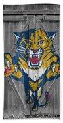 Florida Panthers Bath Towel