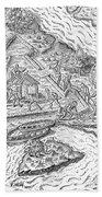 Fort Caroline, 1564 Bath Towel