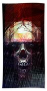 Halloween Mask Bath Towel