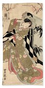 Japan: Tale Of Genji Bath Towel