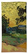 Landscape At Twilight Bath Towel