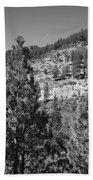 Mountainside Near Lake Tahoe Bath Towel