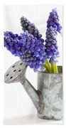 Muscari Or Grape Hyacinth Bath Towel