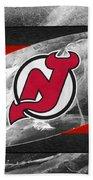 New Jersey Devils Bath Towel