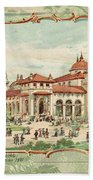 Pan-american Exposition Bath Towel
