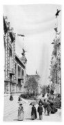 Paris Exposition, 1889 Bath Towel