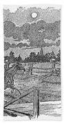 Paul Reveres Ride Bath Towel