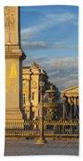Place De La Concorde Bath Towel