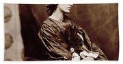 Portrait Of Jane Morris Bath Towel