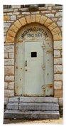 Route 66 - Macoupin County Jail Bath Towel