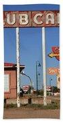 Route 66 - Santa Rosa New Mexico Bath Towel
