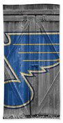 St Louis Blues Bath Towel