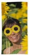 Sunflower Bath Towel