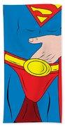 Superman  Bath Towel