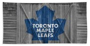 Toronto Maple Leafs Bath Towel