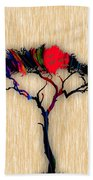 Tree Wall Art Bath Towel
