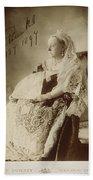 Victoria Of England (1819-1901) Bath Towel