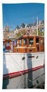 Victoria Wooden Boat Show Bath Towel