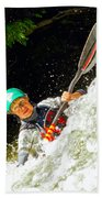 Whitewater Kayak Bath Towel