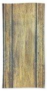 Wooden Background Bath Towel