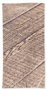 Wooden Floor Bath Towel