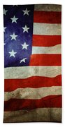 American Flag Bath Towel