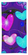 472 -  Valentine Hearts  ... Bath Towel