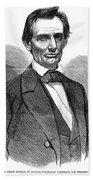 Abraham Lincoln (1809-1865) Bath Towel