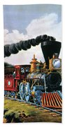 4gcr235american Express Train, 1864 Hand Towel
