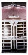 1948 Lincoln Continental Grille Emblem Bath Towel