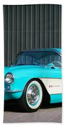1957 Chevrolet Corvette Bath Towel