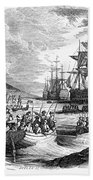 Boston: Evacuation, 1776 Bath Towel