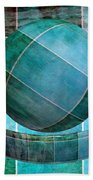 5 By 5 Ocean Geometric Shapes Bath Towel