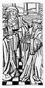 Charles Martel (c688-741) Bath Towel