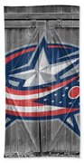 Columbus Blue Jackets Bath Towel