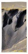 Corona Volcano On Lanzarote Bath Towel